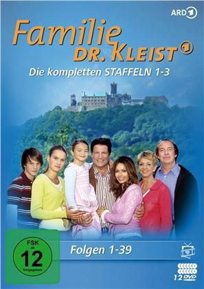 Familie Dr. Kleist - Staffel 1-3 (Fernsehjuwelen, 12 DVDs)