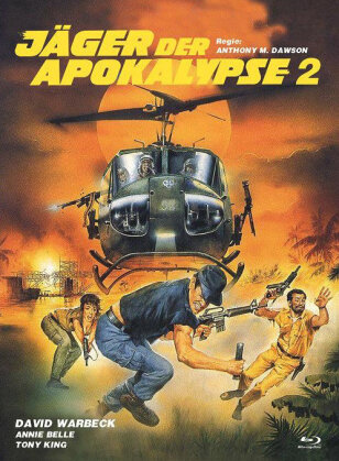 Jäger der Apokalypse 2 (1982) (Eurocult Collection, Cover B, Limited Edition, Mediabook, Uncut, Blu-ray + DVD)