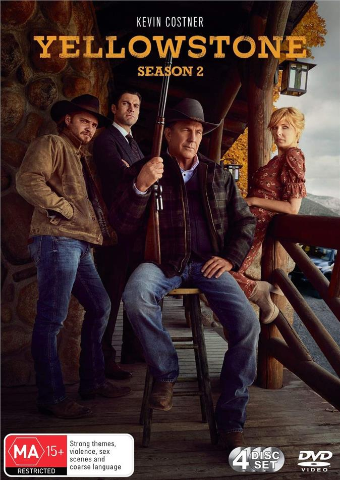 Yellowstone - Season 2 (4 DVDs)