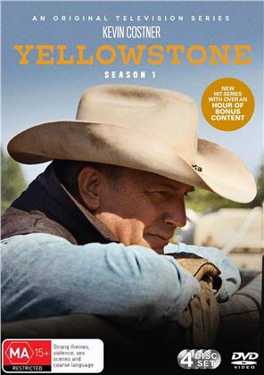 Yellowstone - Season 1 (4 DVDs)
