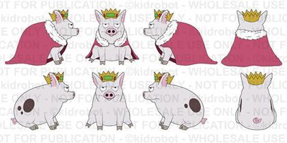 Neca - Disenchantment Pig Prince Merkimer Plush
