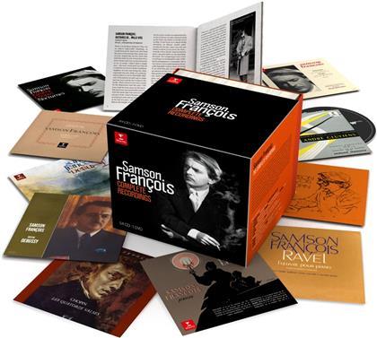 Frédéric Chopin (1810-1849), Maurice Ravel (1875-1937), Franz Liszt (1811-1886) & Samson François - The Complete Studio Recordings (55 CDs)