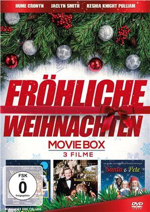 Fröhliche Weihnachten - Movie Box - Santa & Pete / Rettet den Weihnachtsmann / Das Mädchen mit den Wunderhölzern