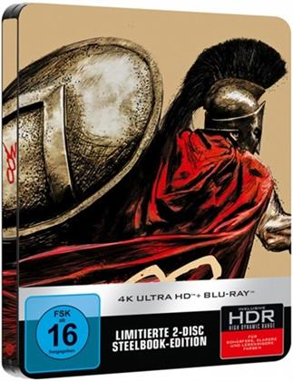 300 (2006) (Steelbook, 4K Ultra HD + Blu-ray)