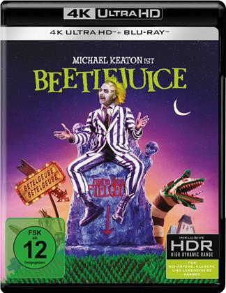 Lottergeist Beetlejuice (1988) (4K Ultra HD + Blu-ray)