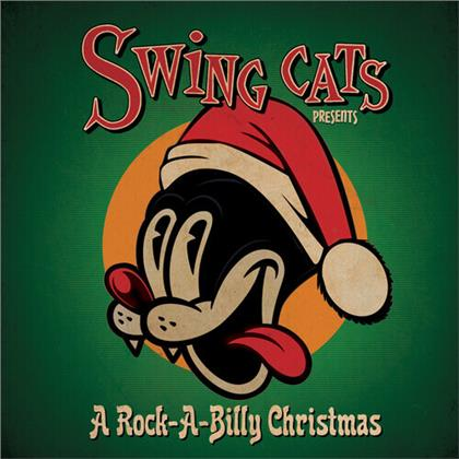 Danny B. Harvey & Gary Twinn - Swing Cats Presents A Rockabilly Christmas (Limited, LP)