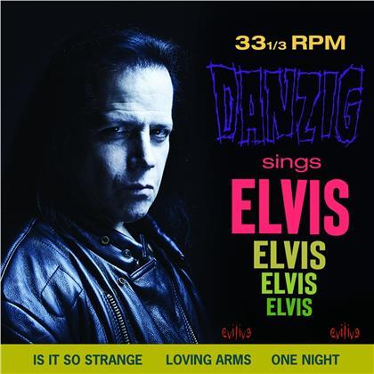 Danzig - Sings Elvis (Blue Vinyl, LP)