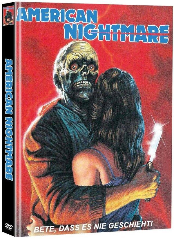 Amercian Nightmare (1983) (Super Spooky Stories, Limited Edition, Mediabook, 2 DVDs)