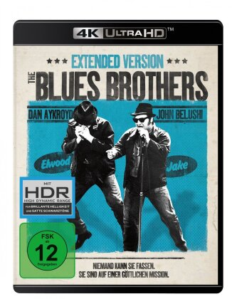 Blues Brothers (1980) (Uncut, 4K Ultra HD + Blu-ray)