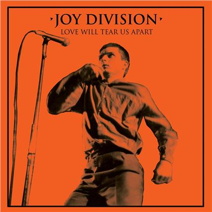 "Joy Division - Love Will Tear Us Apart (Halloween Edition, Orange Vinyl, 7"" Single)"
