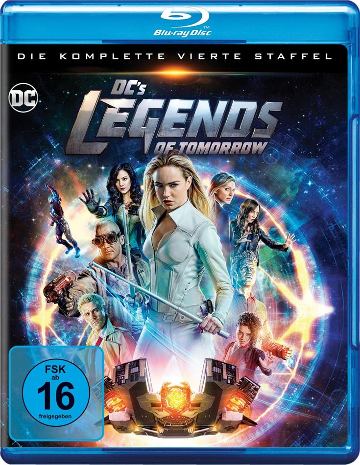 DC's Legends of Tomorrow - Staffel 4 (4 Blu-rays)