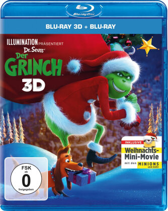 Der Grinch (2018) (Blu-ray 3D + Blu-ray)