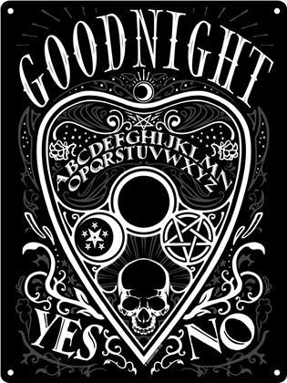 Ouija Goodnight - Mini Tin Sign