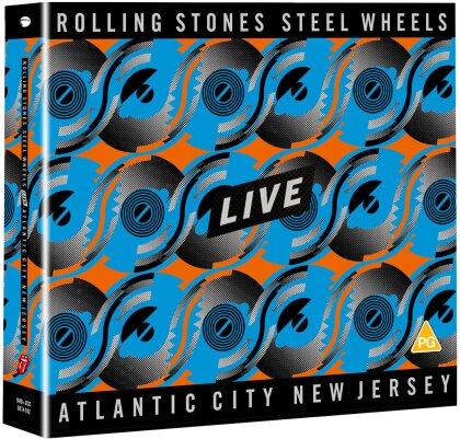The Rolling Stones - Steel Wheels Live (Atlantic City 1989) (+ 2 CD)