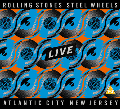 The Rolling Stones - Steel Wheels Live (2 CDs + Blu-ray)