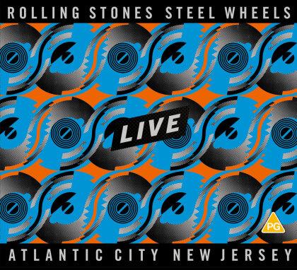 The Rolling Stones - Steel Wheels Live (2 CDs + Blu-ray)