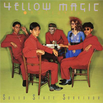 Yellow Magic Orchestra - Solid State Survivor (2020 Reissue, Great Tracks, Clear Yellow Vinyl, LP)