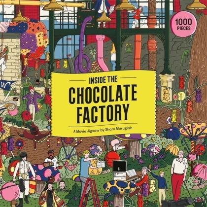 Inside the Chocolate Factory - 1000 Piece Jigsaw Puzzle