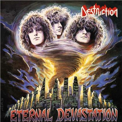 Destruction - Eternal Devastation (2020 Reissue, High Roller Records, Transparent Deep Purple Vinyl, LP)