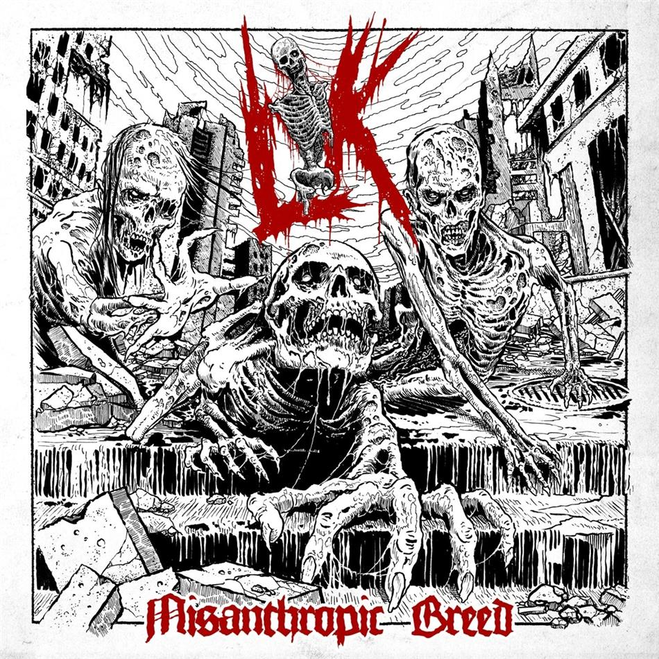 Lik - Misanthropic Breed (Black Vinyl, LP)