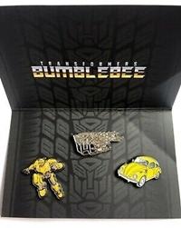 Transformers - Bumblebee Pin Badge Set