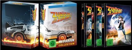 Zurück in die Zukunft - Trilogie (Limited Edition, Mediabook, 4 Blu-rays + 3 DVDs)