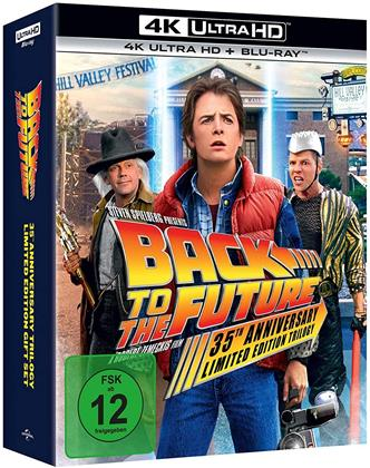 Zurück in die Zukunft - Trilogie (Limited Edition, Steelbook, 3 4K Ultra HDs + 4 Blu-rays)