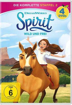 Spirit - Wild und Frei - Staffel 2 (4 DVDs)