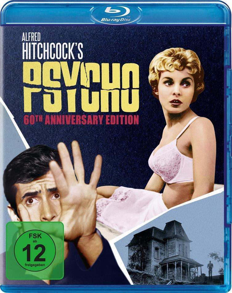 Psycho (1960) (60th Anniversary Edition, s/w, Kinoversion, Uncut)