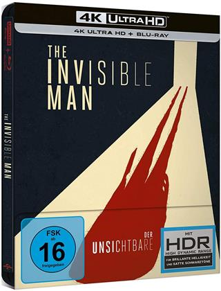 Der Unsichtbare (2020) (Limited Edition, Steelbook, 4K Ultra HD + Blu-ray)