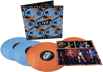 The Rolling Stones - Steel Wheels Live (Atlantic City 1989) (Japan Edition, Limited Edition, Colored, 4 LPs)