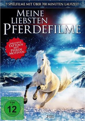 Meine liebsten Pferdefilme (inkl. Tattoos, 3 DVDs)