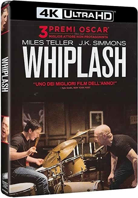 Whiplash (2014) (4K Ultra HD + Blu-ray)