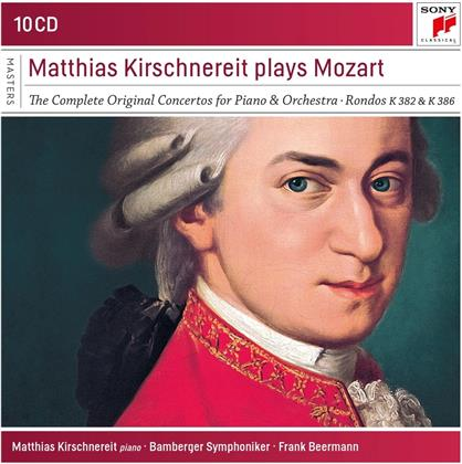 Bamberger Symphoniker, Wolfgang Amadeus Mozart (1756-1791) & Matthias Kirschenereit - The Piano Concertos (10 CDs)