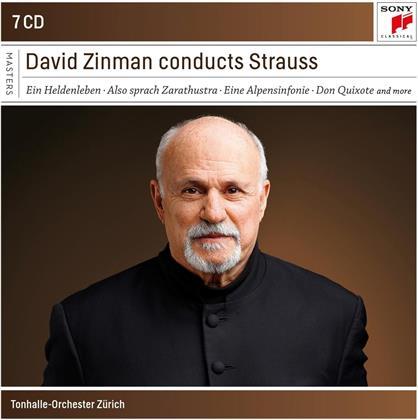 Richard Strauss (1864-1949), David Zinman & Tonhalle Orchester Zürich - Orchestral Works (7 CDs)
