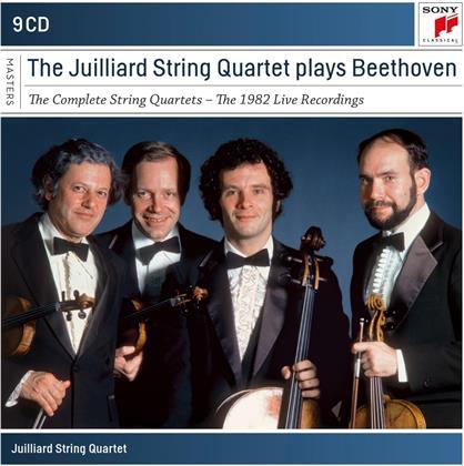 Juilliard String Quartet & Ludwig van Beethoven (1770-1827) - The Complete String Quartets (9 CDs)
