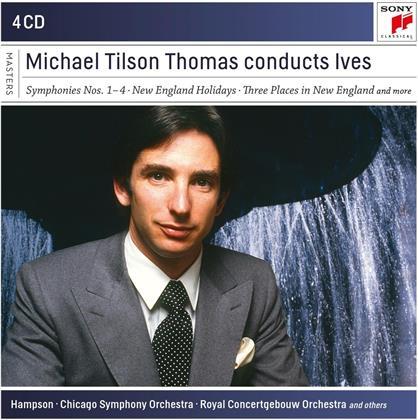 Michael Tilson Thomas & Charles Ives (1874-1954) - Michael Tilson Thomas Conducts Ives (4 CDs)