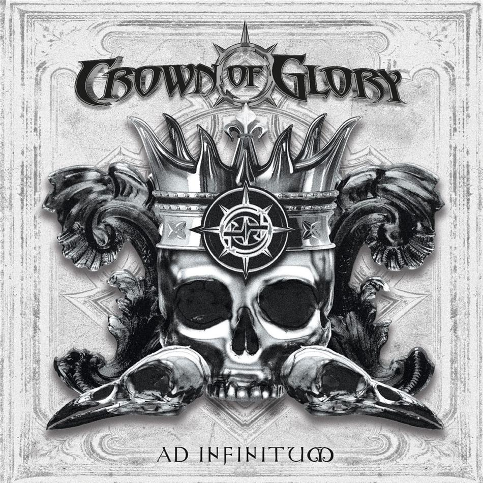 Crown Of Glory - Ad Infinitum (White Vinyl, 2 LPs)