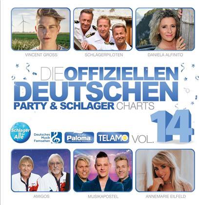 Die offiziellen dt.Party & Schlager Charts Vol.14 (2 CDs)
