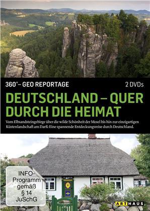 Deutschland - Quer durch die Heimat - 360° - GEO Reportage (2 DVDs)