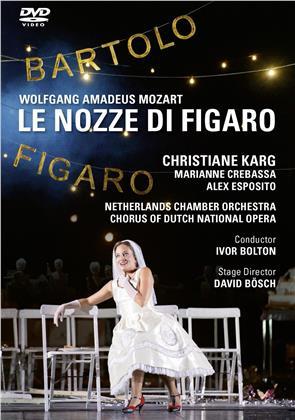 Netherlands Chamber Orchestra & Chorus of Dutch National Opera - Le Nozze di Figaro - Wolfgang Amadeus Mozart (2 DVDs)