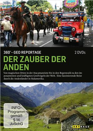 Der Zauber der Anden - 360° - GEO Reportage (2 DVDs)
