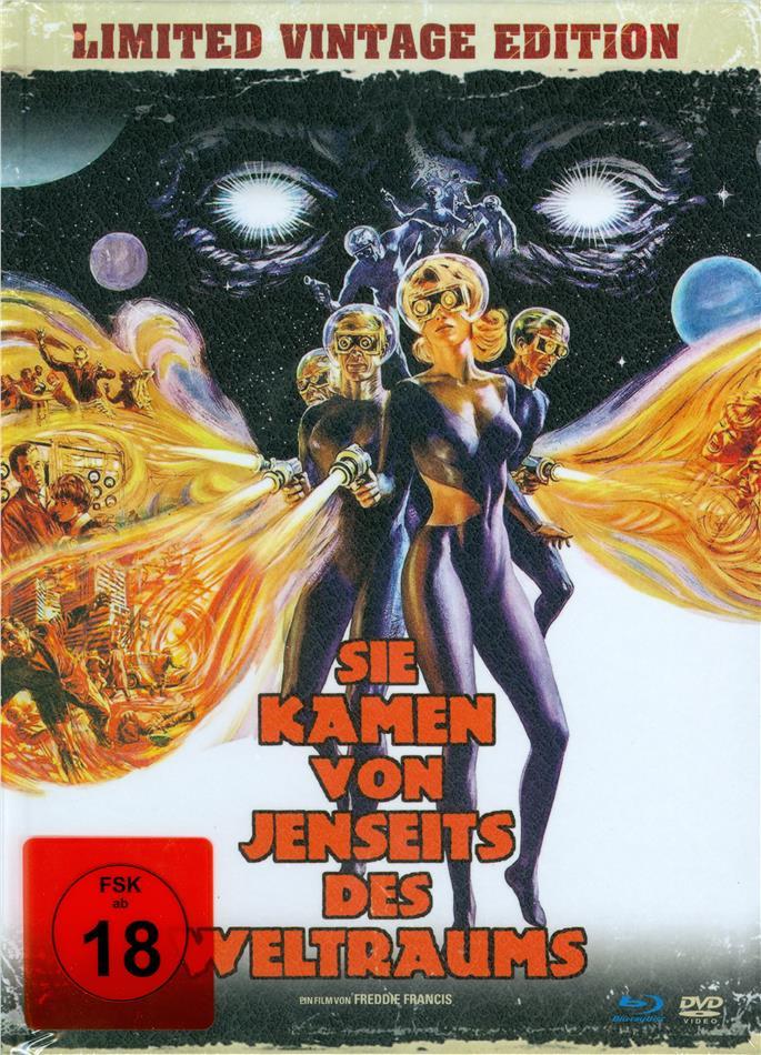 Sie kamen von jenseits des Weltraums (1967) (Limited Vintage Edition, Mediabook, Versione Rimasterizzata, Blu-ray + DVD)