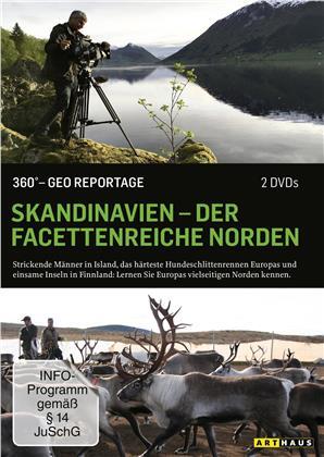 Skandinavien - Der facettenreiche Norden - 360° - GEO Reportage (2 DVDs)