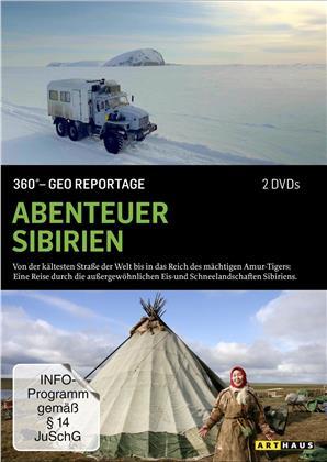 Abenteuer Sibirien - 360° - GEO Reportage (2 DVDs)