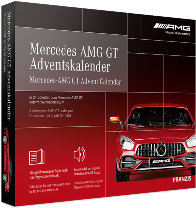 Mercedes-AMG GT Adventskalender 2020