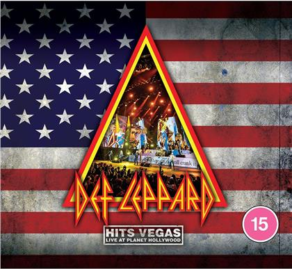 Def Leppard - Hits Vegas - Live At Planet Hollywood (Gatefold, Limited Edition, Transparent Blue Vinyl, 3 LPs)