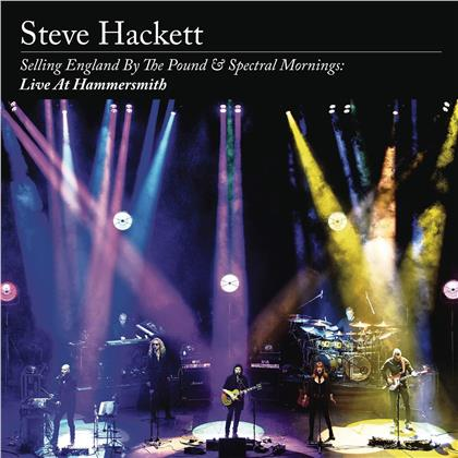 Steve Hackett - Selling England By The Pound & Spectral Mornings: (2 CDs + Blu-ray)