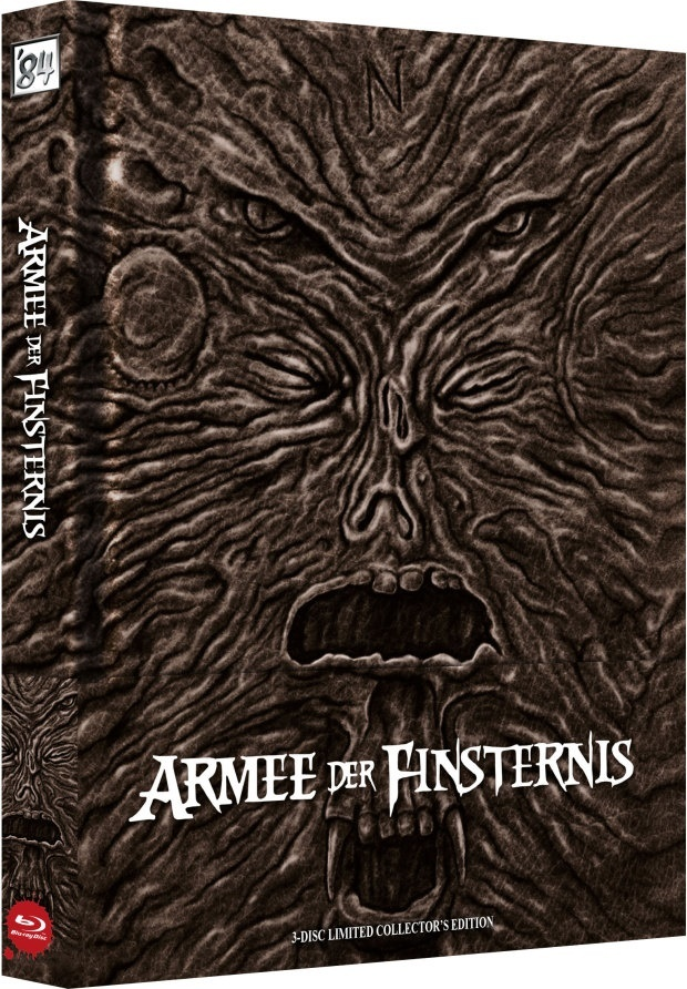 Armee der Finsternis (1992) (Wattiert, Cover A, Kinoversion, Limited Collector's Edition, Mediabook, Uncut, 3 Blu-rays)