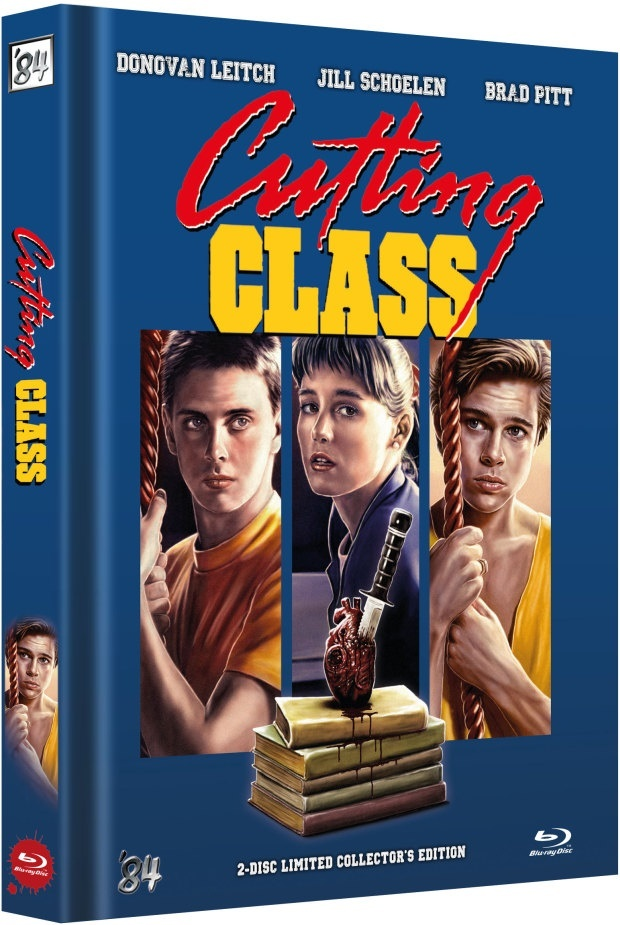 Cutting Class (1989) (Cover C, Limited Collector's Edition, Mediabook, Blu-ray + DVD)